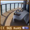 Zusammengesetzter Decking verschalt Balkon-wasserdichtes im Freienfußbodenbelag-