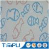 Tissu 100% neuf de jacquard de polyester de poissons de modèle de configuration pour le protecteur de matelas
