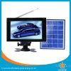 7 pulgadas de mini energía solar de la TV con 4000mAh batería incorporada