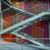 Verschiedene Anwendungen kratzender Treppen-Schritt-Stahlserien vier