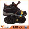 Sapatas de segurança industrial de aço do dedo do pé das sapatas de segurança do petróleo e do gás da alta qualidade