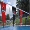 Entwurfs-haltbare Zeichenkette-Markierungsfahnen für Swimmingpool-Dekoration vervollkommnen