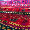 Tecido tricot 100% poliéster para tampa de colchão 60GSM 150cm