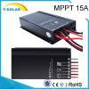 IP67 15AMP MPPT 12V/24V Fünf-Stadium Tages-/Nachtmodus-Solarcontroller Sm1575