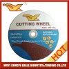 Hochwertiges bestes Preis Inox Ausschnitt-Rad für Metall