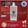 Bottiglia di vetro glassata figura rettangolare 70cl per vodka