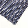 Tessuto di tintura reale della molla su ordine del nero blu per i vestiti