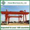 De dubbele Kraan van de Brug van de Straal Elektrische Lange Reizende voor Container (Mg)