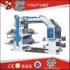 CE Standard Paper Roll à Roll Flexo Printing Machine
