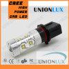 Luz do carro do diodo emissor de luz da luz de névoa 50W do diodo emissor de luz P13, luzes automotrizes