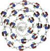 Cinc Alloy Chains para Garment - A5269