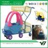 Kleurrijk het Winkelen van de Supermarkt van het Stuk speelgoed van Kinderen Karretje