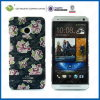 C&T Luxury Hard Flowers Style Caso para HTC M7