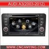 GPS, Bluetooth를 가진 Audi A3 (2003-2012년)를 위한 특별한 Car DVD Player. A8 Chipset Dual Core 1080P V-20 Disc WiFi 3G 인터넷 (CY-C049로)