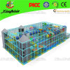 Rectangle Safety Used Indoor Playground avec Net