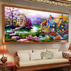 Pintura de paisagem linda 5D Diamond DIY Painting Diamond Mosaic for Sale