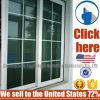 착색된 유리를 가진 싼 가격 Heat-Insulated 알루미늄 슬라이딩 윈도우