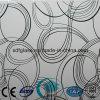 El ácido grabó al agua fuerte el vidrio del vidrio de cristal/helado/arte con el Ce, ISO Sdf038