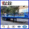 De Semi Aanhangwagen van de Lading van de Kolom van de tribune voor het Hout van het Vervoer