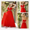 V-Ansatz Chiffon- Abschlussball-Kleid 2012 Du5