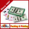 Un lotto di 12 piattaforme $100 Bill Money Poker di tema Playing Cards (430129)