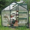 Serres chaudes en aluminium facilement assemblées de jardin