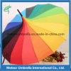 형식과 Durable Rainbow Color Straight Automatic Open Pagoda Umbrella