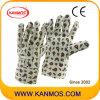 Печатные цветок Винил Хлопок Сад промышленной безопасности Рабочие перчатки (41012)