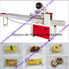 Horizontal Food Cake Biscuit Bread Bakery Snack Packing Machine