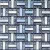Mosaico de cristal mágico del papel de empapelar del material de construcción del color (VMW3201)