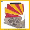 Kundenspezifische Stall-Brenner-Marathon-Medaillen-weiche Decklack-Farbband-Sport-Medaille