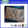 Sample livre Membership Plastic VIP Card com Customized Printing
