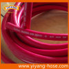 Tuyau à haute pression rouge de l'eau d'air de PVC