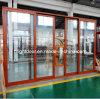 Portelli scorrevoli di vetratura doppia per il balcone con la prova dell'isolamento termico e del suono (CL-D2004)