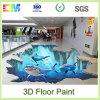 Pintura respetuosa del medio ambiente del suelo de la resina de epoxy 3D del nuevo producto con precio bajo