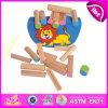 Новый деревянный комплект игрушки малыша баланса блока 2014, смешная игра игрушки малыша баланса, игрушка W11f036 малыша баланса воспитательной игрушки деревянная