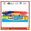 Pintura acrílica Copa Conjunto con el cepillo de pintura