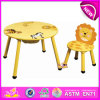 Design bonito colorido Wooden Furniture Table e Kids Chair para Baby