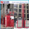 Cage chaude de levage de construction de la vente 2t pour le site de Construciton