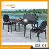 Elegantes Handweaved bequemes Rattan-Sofa-Rattan-im Freienmöbel
