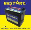 Высокая эффективность 12V 45ah Generator Battery Automobile Car Battery 46b24r-Mf
