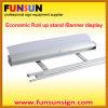 Standsの上のEcomomic RollおよびDisplayのためのRetractable Banner Stand