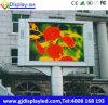 Segno orientato verso i servizi anteriore esterno della video visualizzazione P8 per fare pubblicità