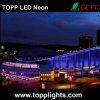 Luz de neón del material LED del PVC para la decoración del edificio