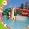 Diapositivas abiertas del tubo del agua de la fibra de vidrio para la piscina privada