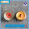 Кнопка металла новой конструкции круглая для одежд