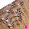 Cuticle pieno Straight Human Seamless Clip in Hair Extension
