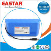 pak van de Batterij van 18.5V6ah Icr18650 Li het Ionen voor de Lichten van Kerstmis en Voertuig Eelectric