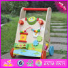 Multi Großhandelsmitte-hölzerner Baby-Stoss-Wanderer der Aktivitäts-2016, im Freien interessantes Spielzeug-hölzerner Baby-Stoss-Wanderer W16e061