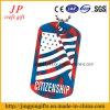 ヨーロッパの地方の機能カスタム卸し売り国旗のドッグタッグ